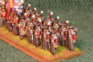 15mm, Napoleonic British Line 1815 Buff facings 24figures